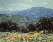 Granville Redmond Flowers Under the Oaks oil painting reproduction