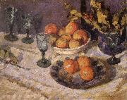 Joseph Raphael The Christmas Table oil