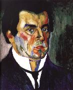 Kasimir Malevich Self-Portrait oil painting