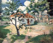 Kasimir Malevich Spring oil painting reproduction