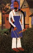 Kasimir Malevich Holidayer painting