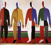 Kasimir Malevich Outdoor sporter painting