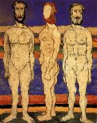 Kasimir Malevich Bather oil painting reproduction