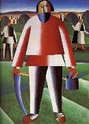 Kasimir Malevich Cut Grazing-s People oil painting