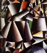 Kasimir Malevich Innervation Arrangement oil painting
