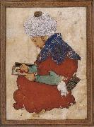 Muslim artist An idealized portrait of Bihzad china oil painting reproduction