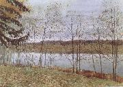 Isaac Levitan Autumn oil painting reproduction