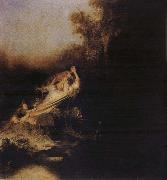 REMBRANDT Harmenszoon van Rijn The Abduction of Proserpina oil painting reproduction