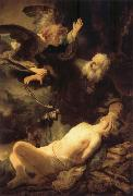 REMBRANDT Harmenszoon van Rijn The Sacrifice of Isaac oil painting reproduction