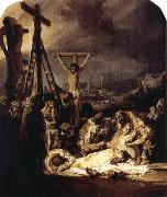 REMBRANDT Harmenszoon van Rijn The Lamentation over the Dead Christ oil painting reproduction