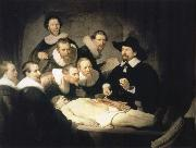 REMBRANDT Harmenszoon van Rijn The Anatomy Lesson of Dr.Nicolaes Tulp oil painting reproduction