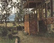 Stanislav Zhukovsky The Terrace oil on canvas