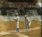 Thomas Eakins The Study of Baseball oil painting reproduction