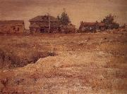 William Merritt Chase Monterey California oil painting
