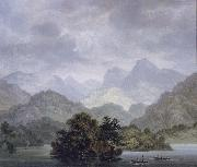 unknow artist Dusky Bay,New Zealand,April 1773 oil painting reproduction