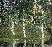 Alexander Yakovlevich GOLOVIN Birch oil painting reproduction