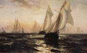 Anonymous Sailboat oil painting reproduction