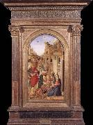 BASTIANI, Lazzaro Adoration of the Magi oil painting reproduction