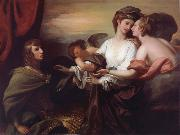 Benjamin West Helen Brought to Paris painting
