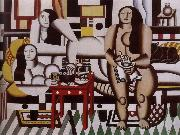 Fernard Leger Grand lunch oil on canvas