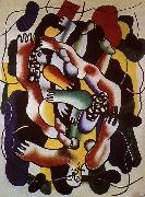 Fernard Leger Polychrome-s diver oil painting reproduction