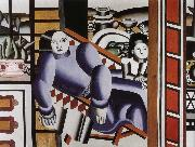 Fernard Leger Woman and children oil on canvas
