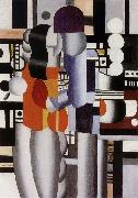 Fernard Leger The man and woman oil on canvas