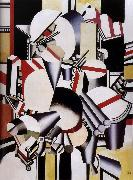 Fernard Leger Mechanism element oil on canvas