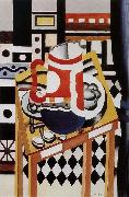Fernard Leger The still life having water bottle oil on canvas