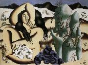 Fernard Leger Bather oil painting reproduction