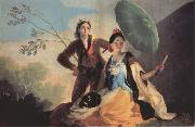 Francisco Goya The Parasol painting