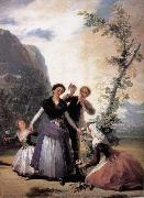 Francisco Goya Spring oil painting reproduction