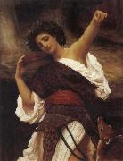 Frederick Leighton The Tambourine Player oil