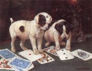 George Rowlandson Poker oil