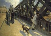 Gustave Caillebotte Pier oil painting reproduction