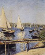 Gustave Caillebotte Sailboat oil painting reproduction