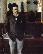 Gustave Caillebotte Inside cafe oil painting reproduction