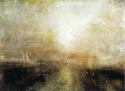 J.M.W. Turner Yacht Approaching the Coast oil painting reproduction