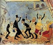 James Ensor The Bad Doctors china oil painting artist