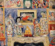 James Ensor Interior with Three Portraits oil painting reproduction