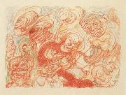 James Ensor The Holy Family oil painting reproduction
