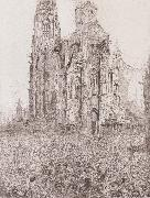 James Ensor The Cathedral oil painting reproduction