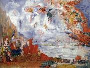 James Ensor The Tribulations of St.Anthony oil painting reproduction