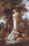 Jean Honore Fragonard The Progress of Love oil painting reproduction