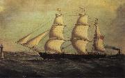 Joseph heard The Barque Queen Bee china oil painting artist