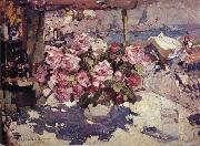 Konstantin Korovin Rose oil painting reproduction