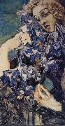 Mikhail Vrubel Portrait oil painting reproduction