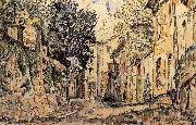 Paul Signac Town oil painting reproduction