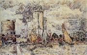 Paul Signac Landscape oil painting reproduction