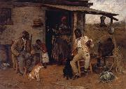 Richard Norris Brooke A Dog Swap oil